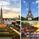 Cultural Capitals - Amsterdam, Brussels & Paris